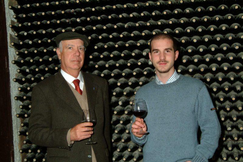 Il barone Salvatore La Lumia e suo figlio
