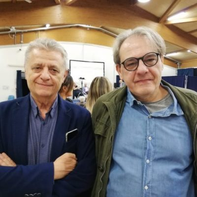 Stefano Odorici e Danilo Zacchiroli