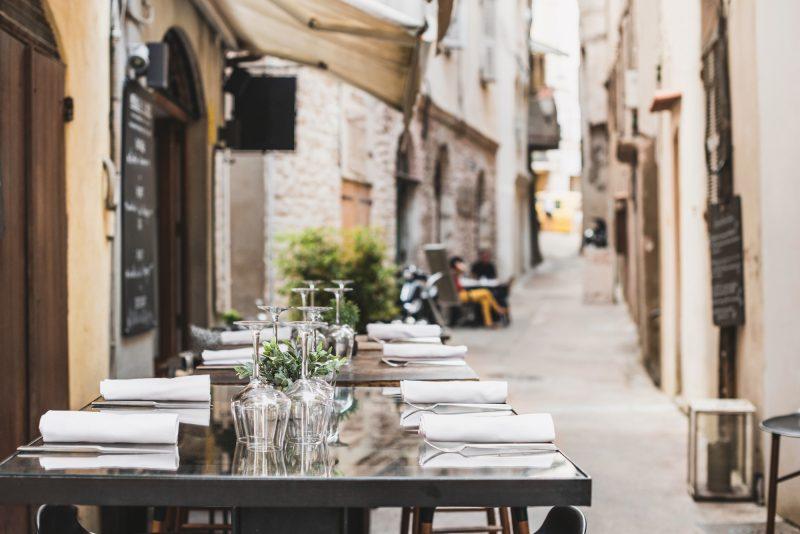 ristorante italiano covid