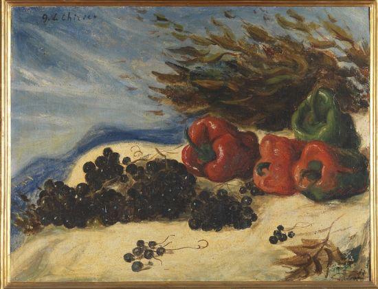 Giorgio De Chirico a Uffizi da mangiare